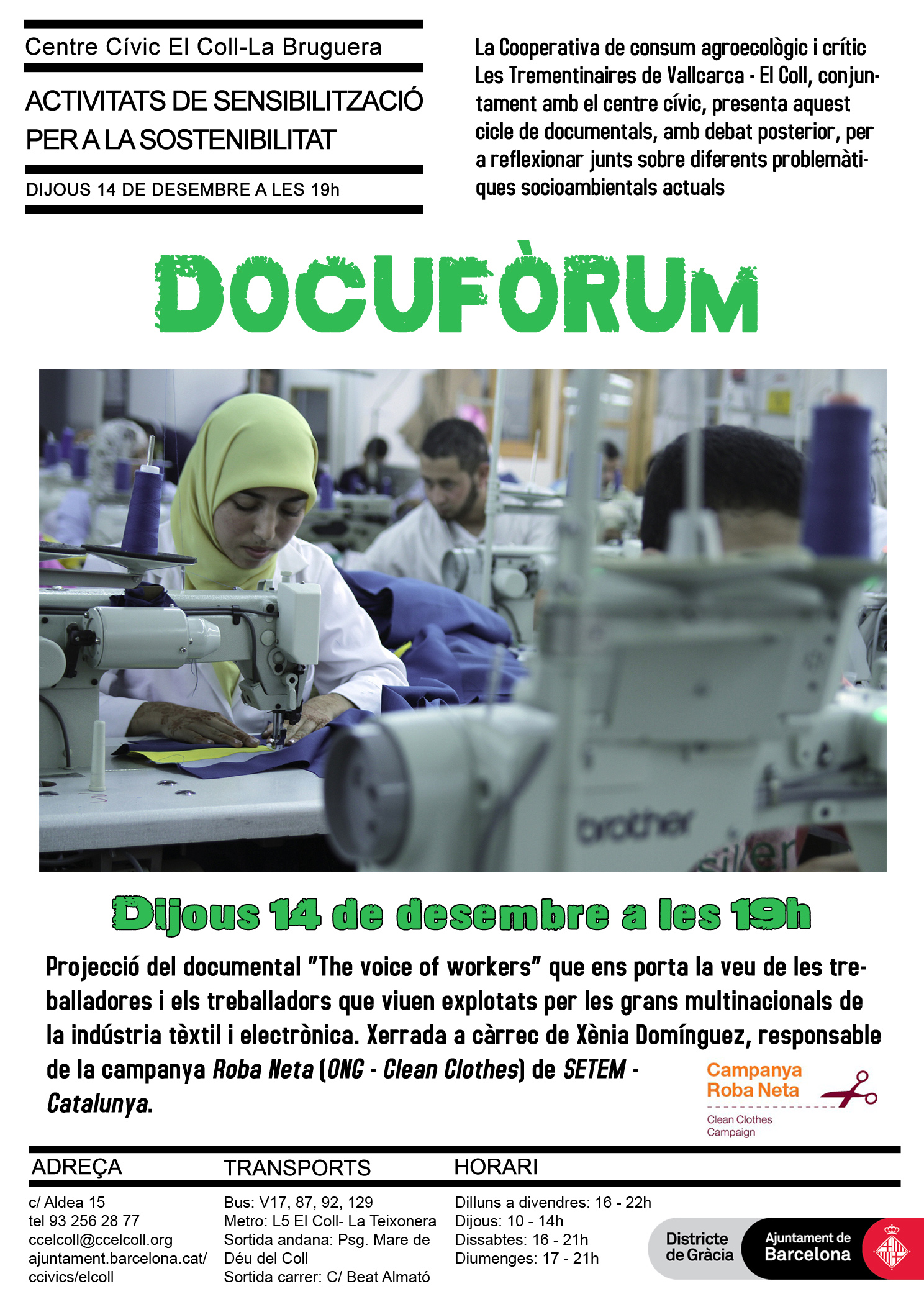 Docufòrum 'The voice of workers'