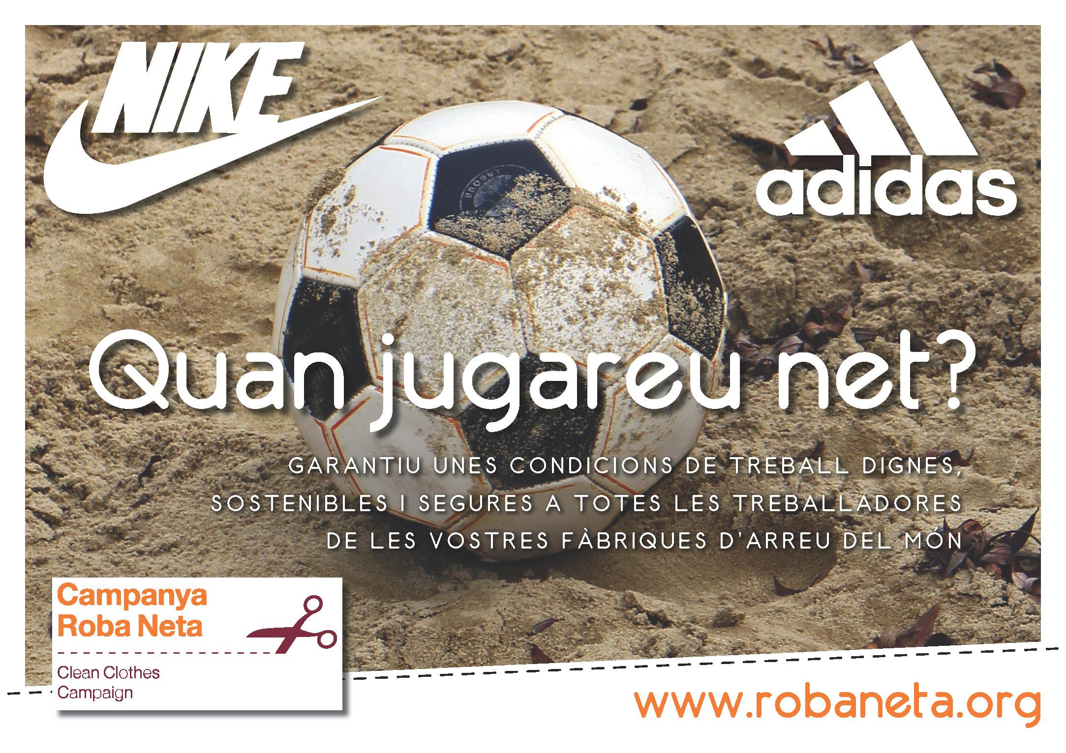 Salaris dignes Adidas Nike